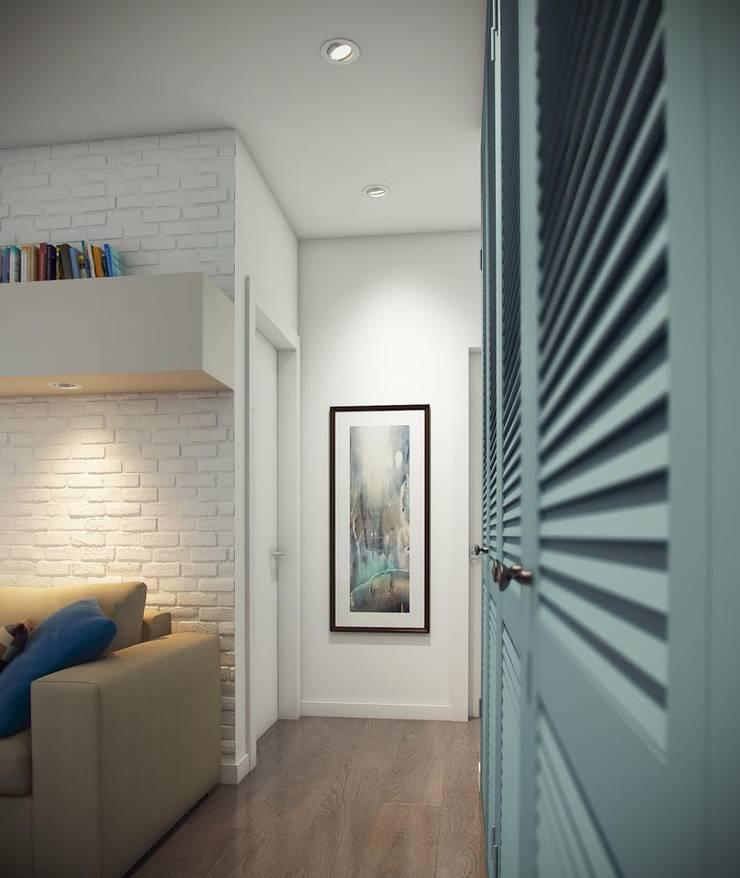 Massimos / cтудия дизайна интерьера:  tarz Koridor ve Hol,