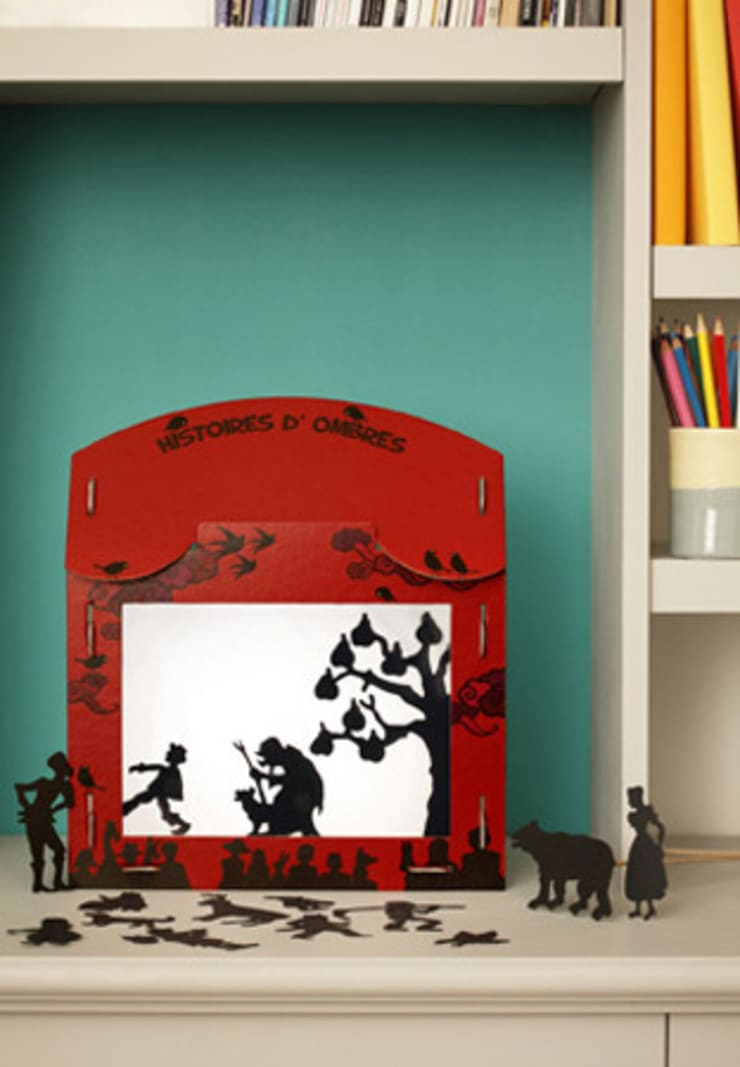 Théâtre d'ombres 'Histoires d'ombres: Chambre d'enfants de style  par coco d'en haut