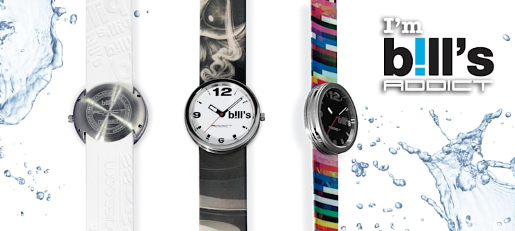 Collection Addict Bill's by curioos: Dressing de style de style eclectique par Bill's Watches