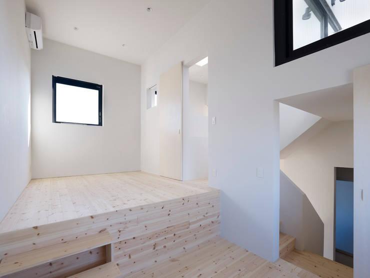 青戸の住宅: ハイランドデザイン一級建築士事務所が手掛けた子供部屋です。