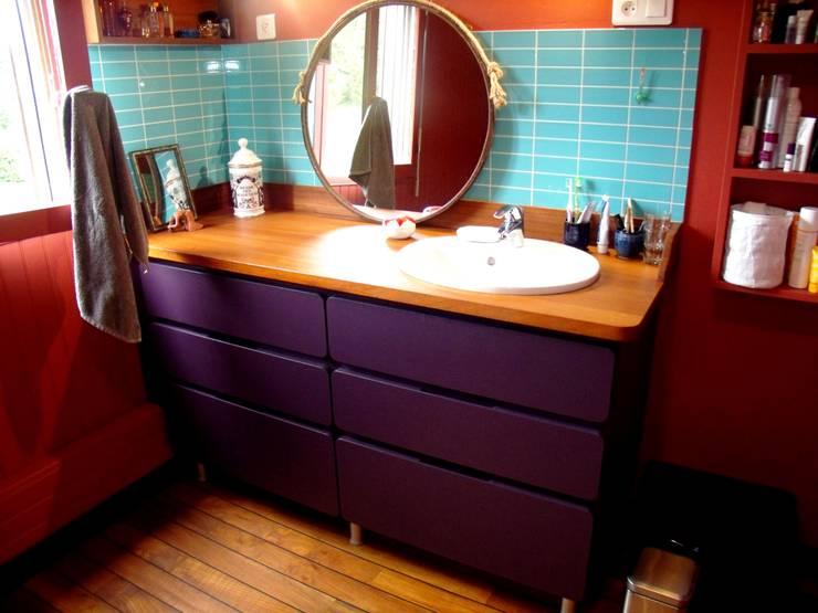 Salle de bains: Salle de bains de style  par la menuis'