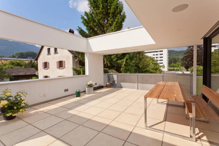 Terrasse offen:  Terrasse von Catharina Fineder Architektur