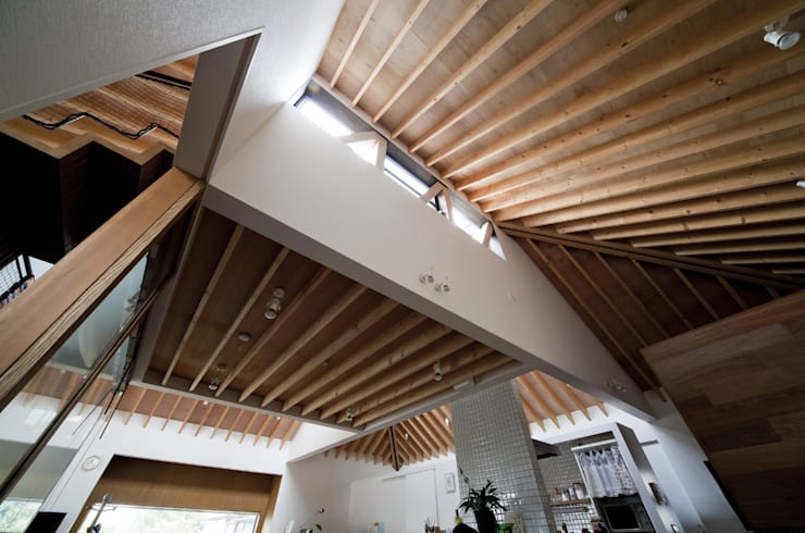 凹屋根の家 No.2: Jun Yashiki & Associatesが手掛けた家です。