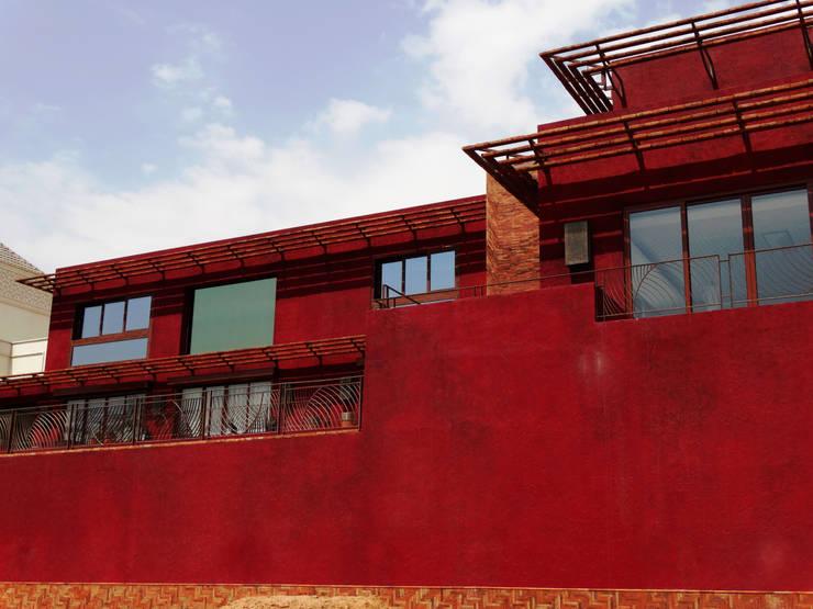 Riyadh House: Casas de estilo  por arqflores / architect