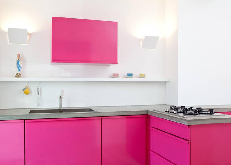 Kitchen تنفيذ popstahl Küchen