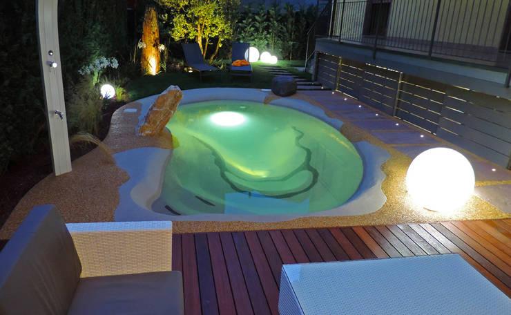 Laghetto Balneabile: Piscina in stile in stile Moderno di Rizzi Giardini - Garden & Exterior Design