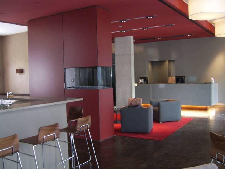 Hoteles de estilo  por tredup Design.Interiors