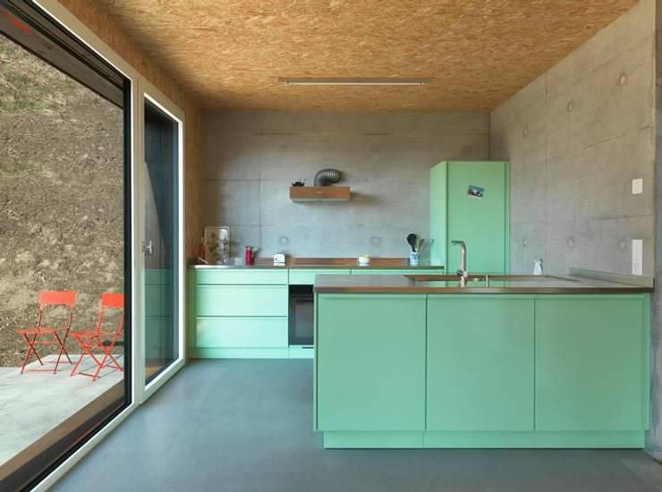 modern Kitchen تنفيذ popstahl Küchen
