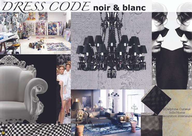 Planche univers: Maisons de style de style Moderne par INSO'HOME Décoration Intérieure