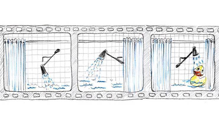 Diego Grandi con Zucchetti.Kos e Lea Ceramiche - Get Closer:  in stile  di Bologna Water Design