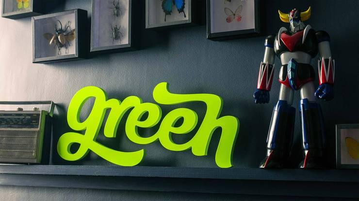 Green: Maison de style  par You Talking To Me