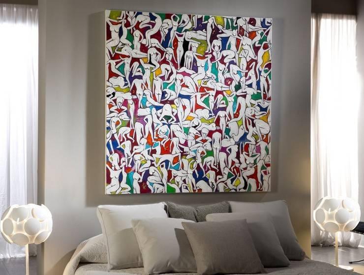 Cuadro Acrílico People: Arte de estilo  de Ámbar Muebles