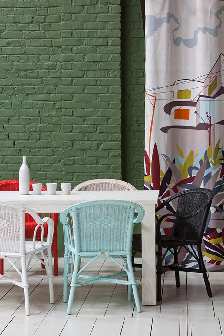 Rotin Vintage: Maison de style  par KOK
