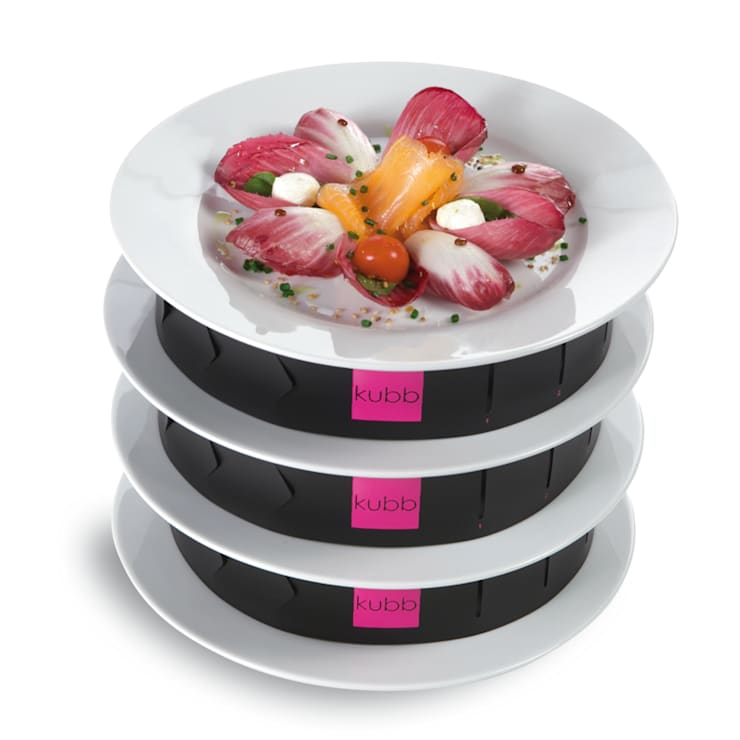kubb : Bandes de superposition d'assiettes dressées: Cuisine de style  par KSTORE - KUBB