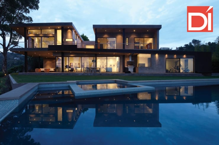 Casa Montefino, Cuernavaca Morelos: Hogar de estilo  por Decoré Interiorismo