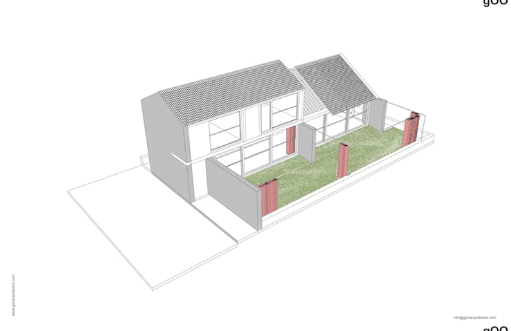 LAS ACACIAS:  de estilo  por gOO Arquitectos