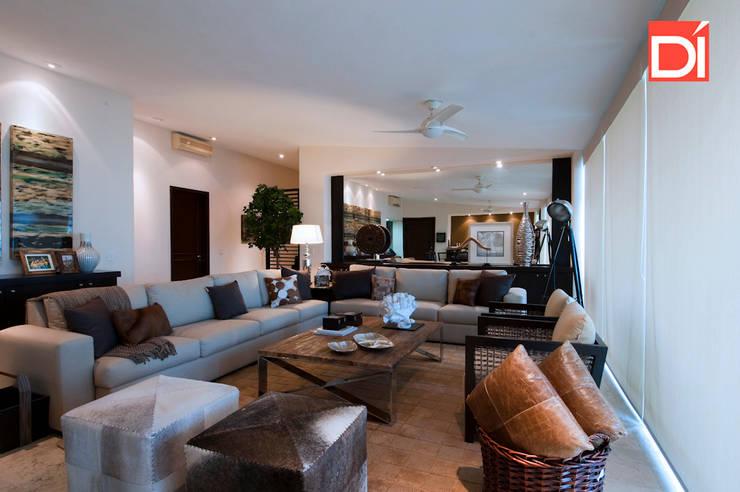 Guitarrón Penthouse: Hogar de estilo  por Decoré Interiorismo