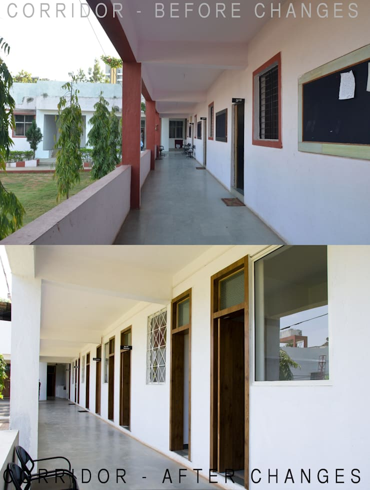 Kindergarten school in Baner:   by M+P Architects Collaborative