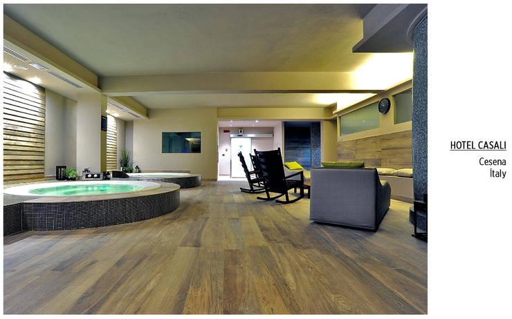 Plaza Yapı Malzemeleri – İç Mekan Spa & Wellness:  tarz Spa