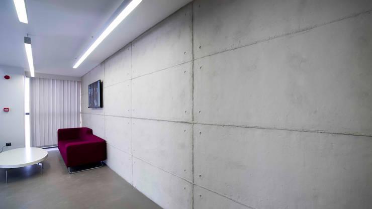 Paredes y pisos de estilo industrial por Europanel