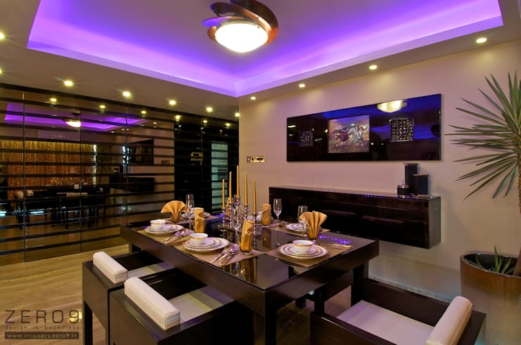 modern Dining room by ZERO9