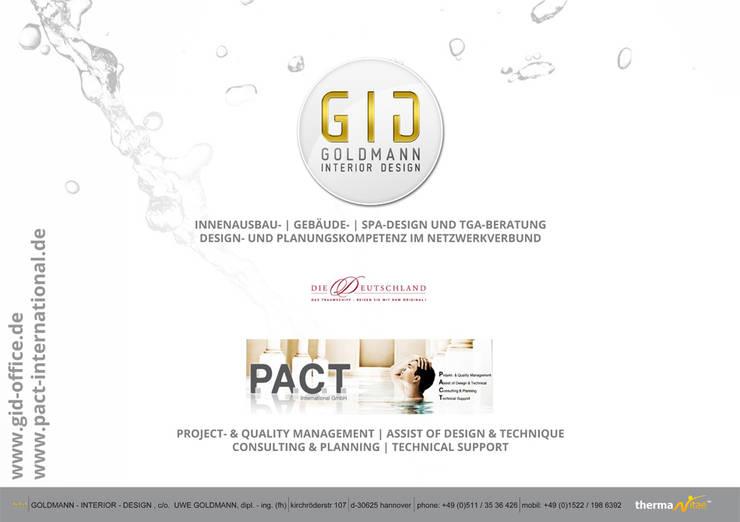 Deckblatt - Präsentation:  Hotels von GID│GOLDMANN-INTERIOR-DESIGN - Innenarchitekt in Sehnde,Klassisch