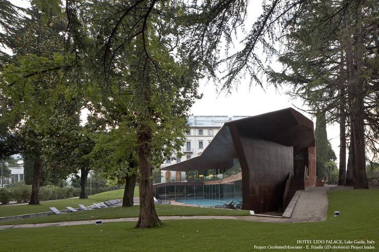 Pizzeghello - Architekten Berlin:  tarz Spa
