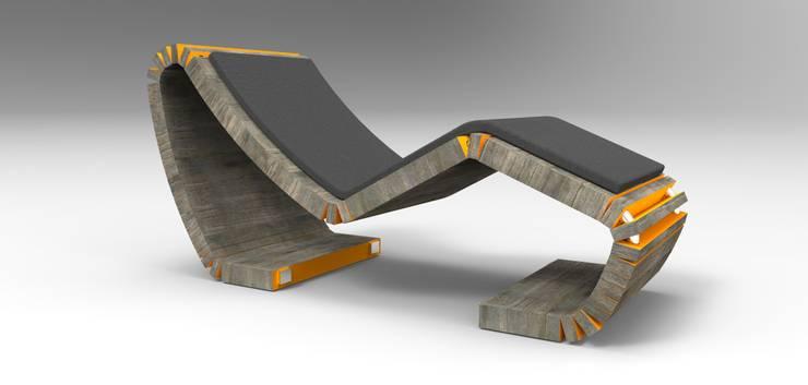 CIELLEUNO: Soggiorno in stile  di TOBO Design