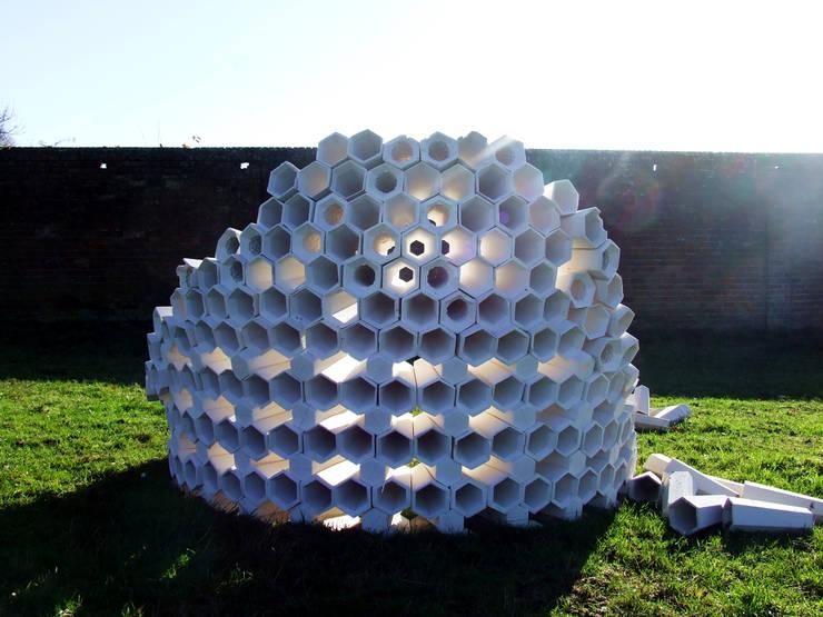 Hexacones:  Garden by Architectural Designer and Maker