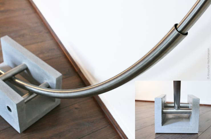 Girassol: Salon de style  par Anouche Hachmanian Design