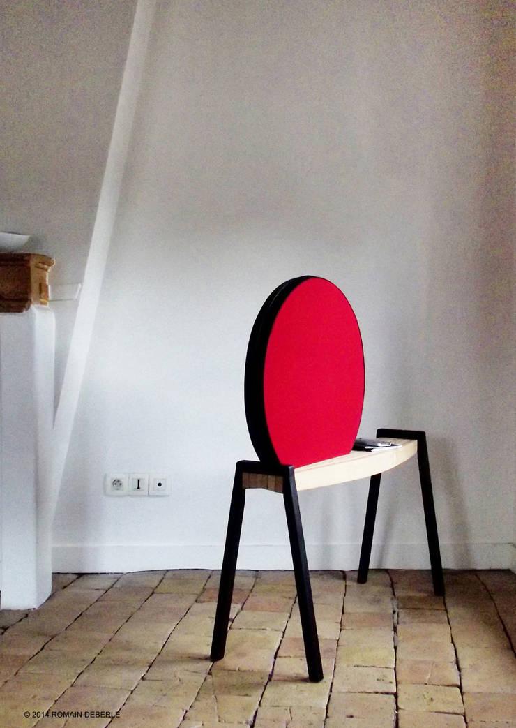 Enceinte ECLIPSE: Salon de style  par ROMAIN  DEBERLE