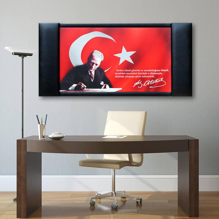 TabloShop - Dekoratif ve Modern Tablolar – Makam Odası ve Atatürk Tabloları:  tarz Çalışma Odası
