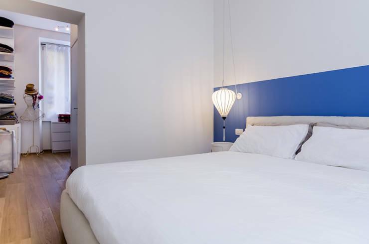 NOMADE ARCHITETTURA E INTERIOR DESIGN: endüstriyel tarz tarz Yatak Odası