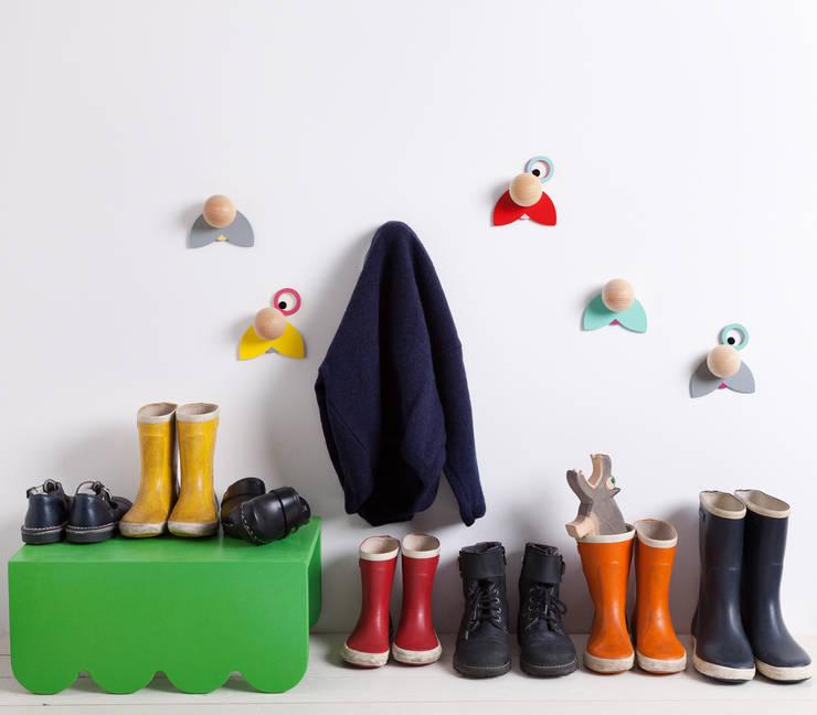 Hatschi Wandhaken: moderne Kinderzimmer von jäll & tofta