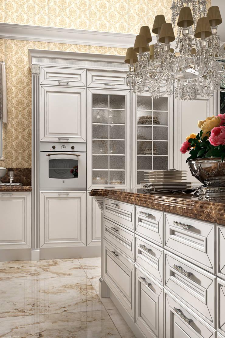 Cucina OPERA: Cucina in stile  di Siloma srl
