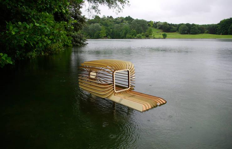 Duck house: Jardin de style  par LA PIOTE DESIGNERIE