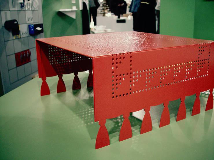 Woonkamer door Diego De Conca Architetto