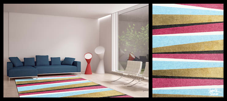 Swen Simon-Abstract Lines: Maisons de style  par Yunikart