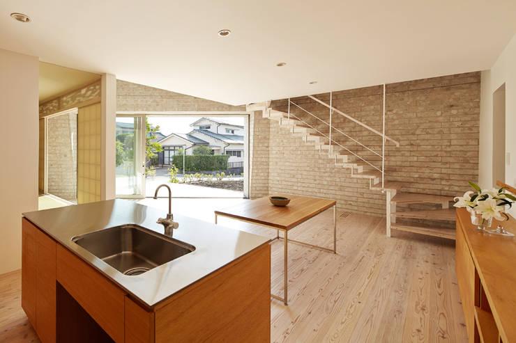 SHIRASU: ARAY Architectureが手掛けたキッチンです。