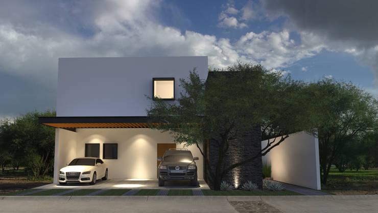 R: Casas de estilo  por AR Arquitectos