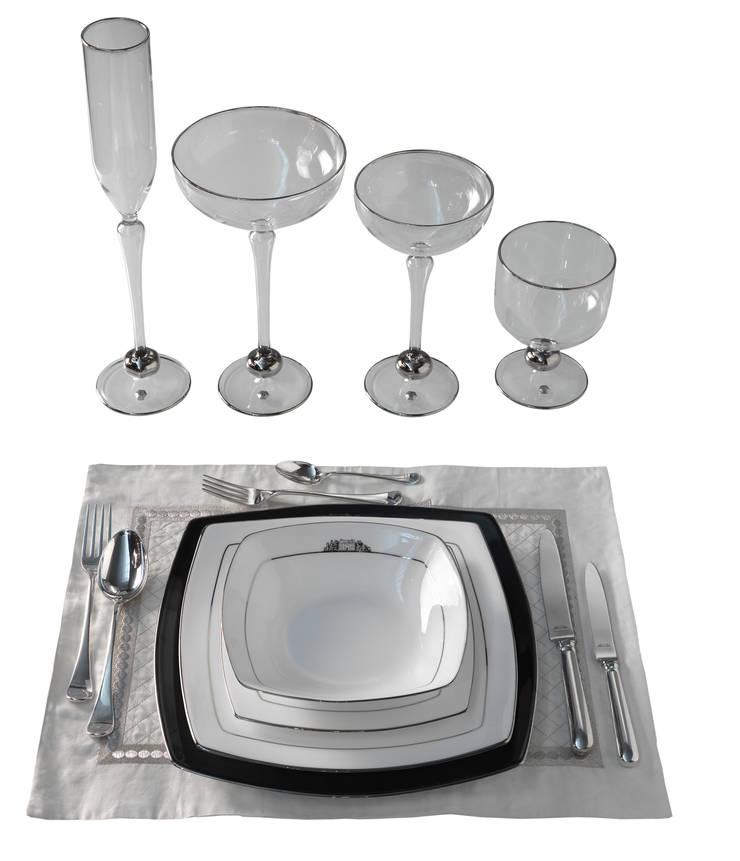 Accessori: Sala da pranzo in stile  di brummel cucine