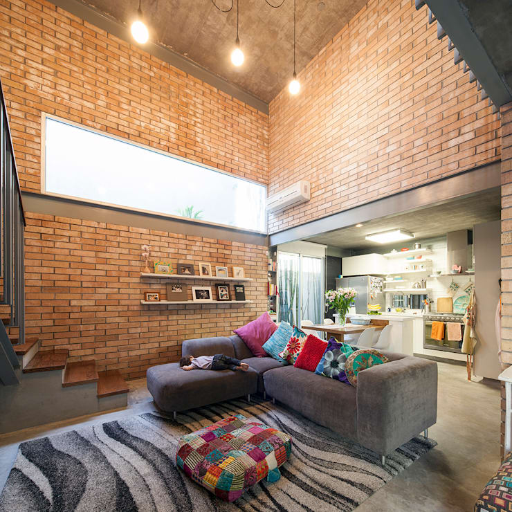de estilo  por Garza Camisay arquitectos