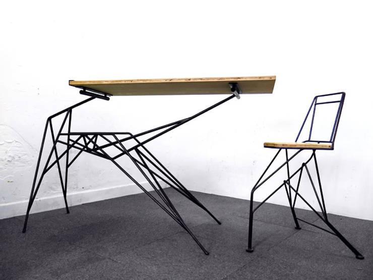 Série ARACHNIDE: Bureau de style  par Benjamin Crilout Designer