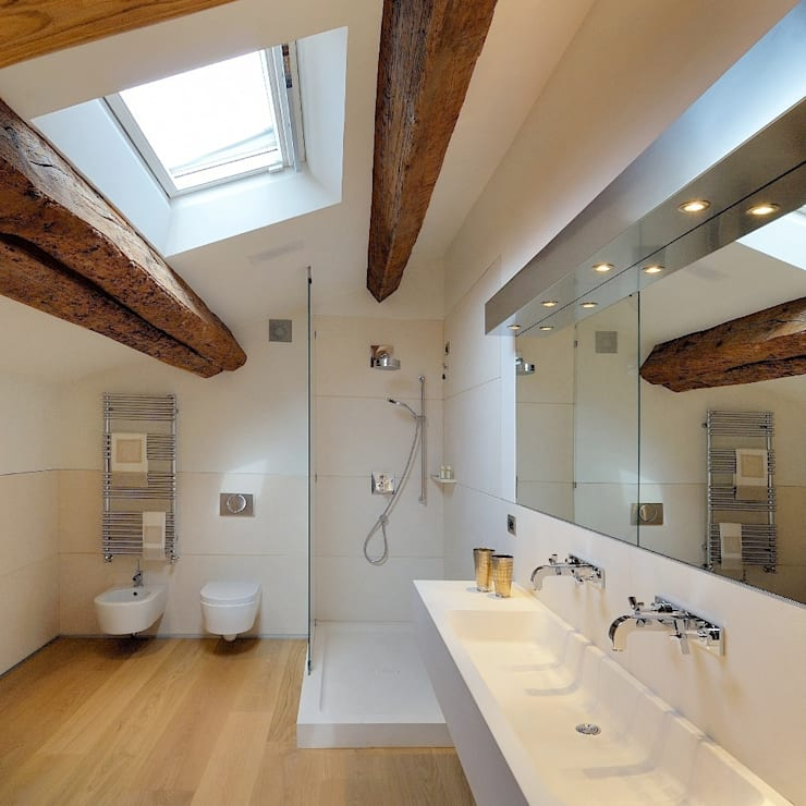 modern Bathroom by M A+D Menzo Architettura+Design