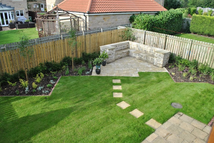 Yorkstone Garden :  Garden by Native Landscape Design