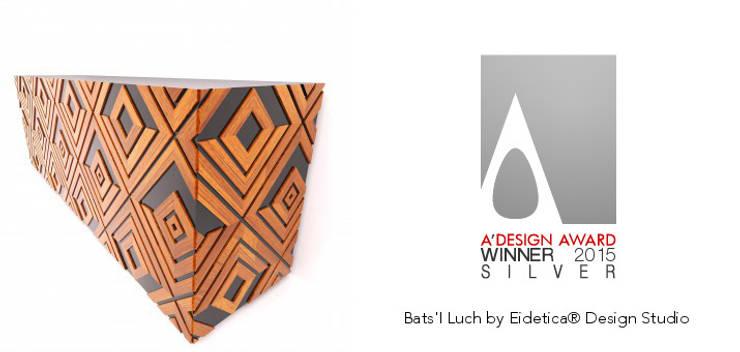 Bats'I Luch (Credenza).: Hogar de estilo  por Eidética