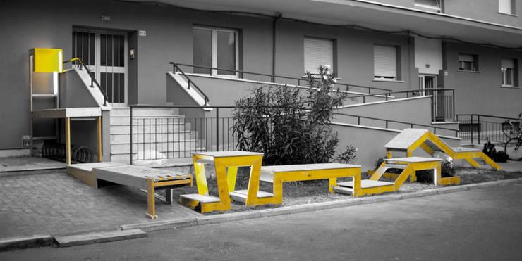 STRIP-TEASE_1: Jardín de estilo  de a.b. - Ander Barandiaran