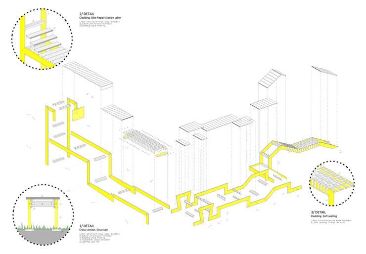 STRIP-TEASE_5: Jardín de estilo  de a.b. - Ander Barandiaran