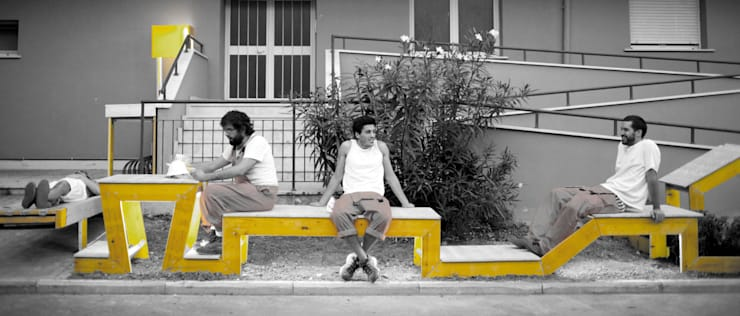 STRIP-TEASE_2: Jardín de estilo  de a.b. - Ander Barandiaran