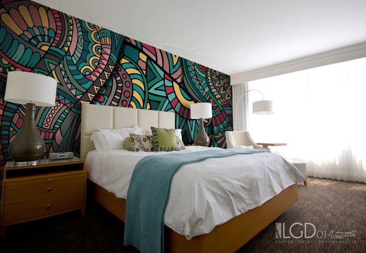LGD01 MultiLés - ETHNIC ©: Murs & Sols de style  par LGD01